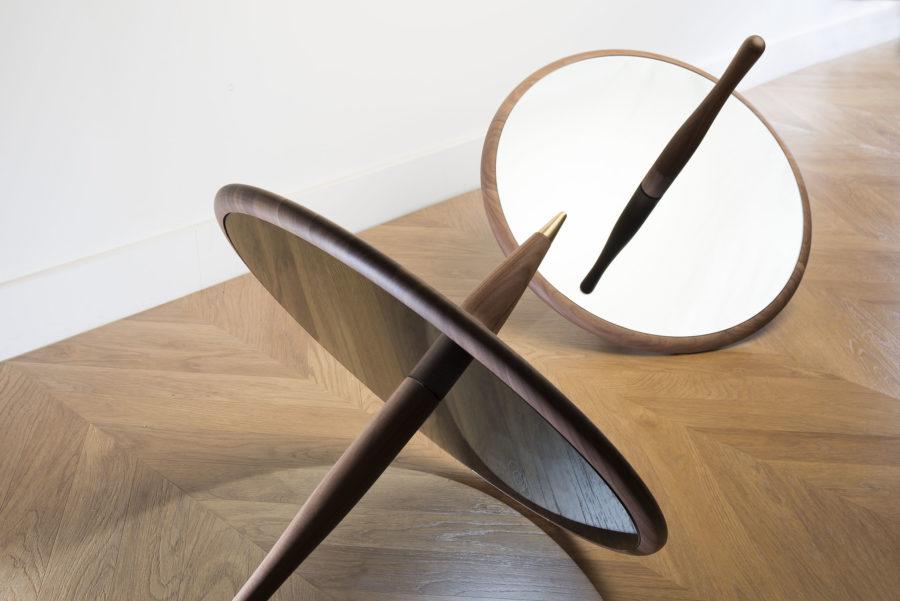 Peonza Mirror Nomon Home Escultura 7